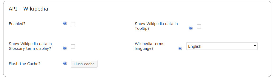 Add a Wikipedia API to your WordPress site with CM tooltip glossary WordPress plugin