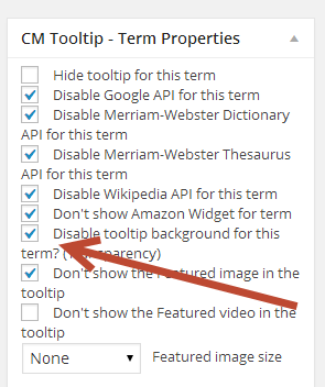 Create Transparent video tooltips for your WordPress blog