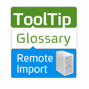 Glossary Remote Import